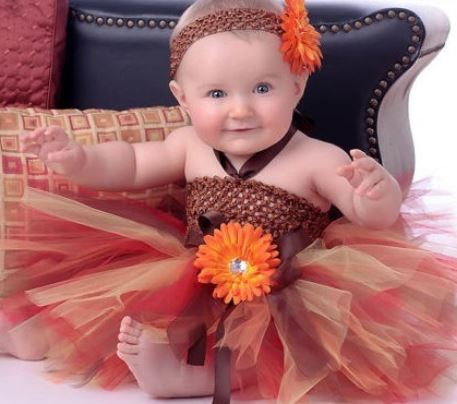 c2954e279 Pumpkin Dress,Fall Season Orange Color Dress Tutu Dress for Newborn Girls- Newborn Props